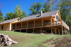 Coventry Log Homes   Our Log Home Designs   Craftsman Series   The Mountain View