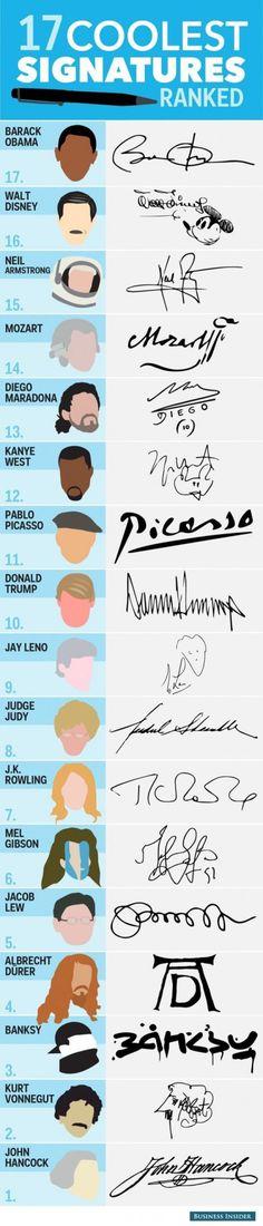 My signature suddenly feels very boring