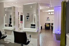 salon de coiffure mobilier moderne salon de coiffure sièges miroirs ...