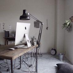 yasuakiさんの、DIY,IKEA,メンズ部屋,NO GREEN NO LIFE,無印良品,賃貸,植物,一人暮らし,iMac,My Desk,のお部屋写真