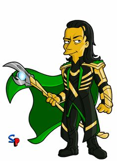 Springfield Punx: The Avengers Movie - Loki Loki Avengers, Avengers Movies, Comic Movies, Loki Thor, Loki Laufeyson, Tom Hiddleston Loki, Marvel Dc, Disney Marvel, Marvel Comics