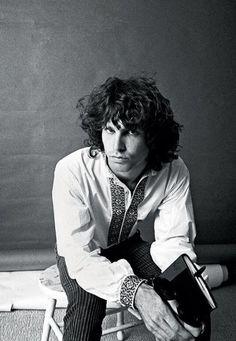 "nostalgia-gallery: ""Jim Morrison (1966) """