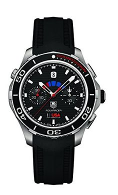 TAG Heuer Aquaracer Calibre 72 500M Limited Edition OraCLe Team USA Mens Watch CAK211BFT8019 ** Details can be found by clicking on the image.