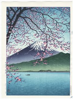 Kisho, Nishiizu, 1937 by Hasui (1883 - 1957); Japanese woodblock print........................ ukiyoe japan decoration antique fineart home decor collectible japanese woodblock print handmade home art beautiful decorative etching illustration traditional woodcut