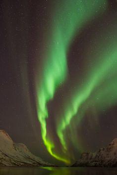 New Years Eve in Ersfjordbotn Norway
