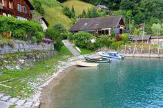 A lake in Heidiland, Switzerland. Go See, Alps, Switzerland, Travelling, World, The World