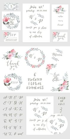 Save the date cards collection. Wedding Card Templates