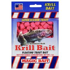 Magic Bait Floating Krill Trout Bait 1 Ounce Package Chartreuse  https://fishingrodsreelsandgear.com/product/magic-bait-floating-krill-trout-bait-1-ounce-package-chartreuse/  Zoo Planktin Krill Formula Cubed and Ready For The Hook Scent Proof Bait Floating Trout Bait This is a high quality product Magic Bait Co. Magic Bait Krill Trout Bait Cht 1Oz – S-141