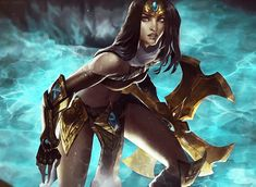 • LOL gaming video games League of Legends sivir the real star of this video 2 bad i hate playing her but she's dang hawt soooo…