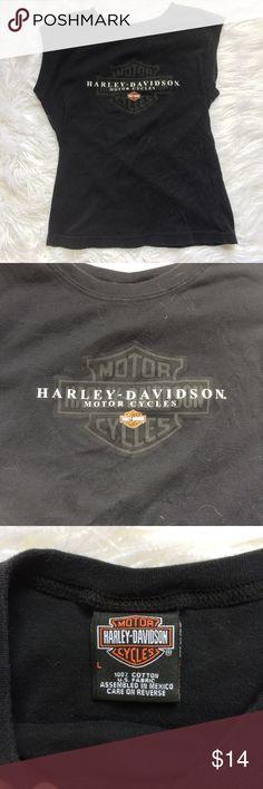 Harley Davidson shirt 1las vegas Short sleeve shirt with Harley Davidson logo soft fabric from Las Vegas Nevada Harley-Davidson Tops Tees - Short Sleeve