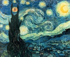 Image of the Day: Vincent van Gogh visits Mordor
