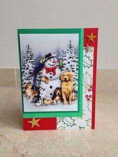 Nog een leuk kerselaartje! Another fun christmas card! DIY