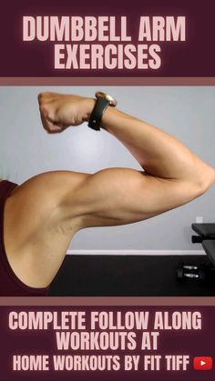 Fitness Workout For Women, Fitness Diet, Fun Workouts, At Home Workouts, Dumbbell Workout, Shoulder Workout, Motivation, Physical Fitness, Strength Training
