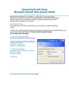Microsoft Outlook Web Access OWA