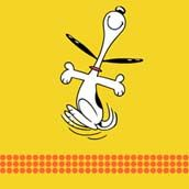 """I still say: """"I'm doing a Snoopy happy dance"""" when something good happens."""
