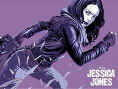 Mondo Jessica Jones Poster Plus