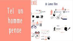 La force des idées : Tel un Homme Pense de James Allen Acupuncture, Movie Posters, Thinking About You, Film Poster, Billboard, Film Posters