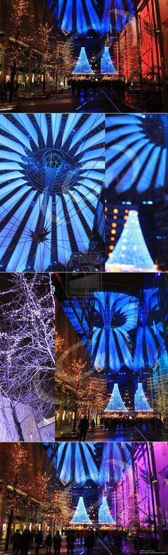 As you can see, thats the inner courtyard of the Sony Center (Berlin, Germany) during the time of Christmas 2012.