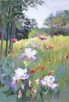 Margaret Evans Scotland soft pastel