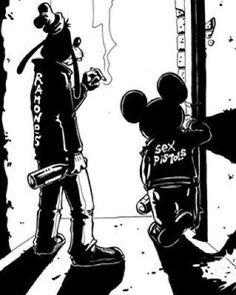 Damn The Shit fuck outta my face  #berlin #sonotberlin #disney #goofy #mickeymouse #ramones #sexpistols #blackwhite #schwarzweiss #münchen #089 #069 #tokyoshoeshineboys #mob #worldwide #leatherjacket #drugs #alcohol #offduty #alde #randomstuff #childhoodmemories by tokyoshoeshineboys