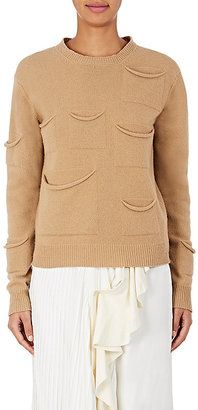 Shop Now - >  https://api.shopstyle.com/action/apiVisitRetailer?id=636687774&pid=uid6996-25233114-59 J.W.Anderson Women's Draped-Pocket Wool-Cashmere Sweater  ...