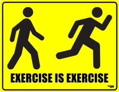 exercise is exercise. health-beauty