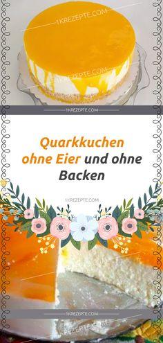 Easy Cake : Ingredients 3 tablespoon sour cream / butter 500 g quark 125 g butter 200 g powdered sugar 1 pck. Lemon Cake Mix Cookies, Lemon Cake Mixes, Cake Mix Recipes, Baking Recipes, Lemon Velvet Cake, Vegan Lemon Cake, Egg Cake, Tree Cakes, Easy Cake Decorating