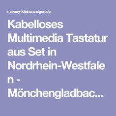 Kabelloses Multimedia Tastatur aus Set in Nordrhein-Westfalen - Mönchengladbach | Tastatur & Maus gebraucht kaufen | eBay Kleinanzeigen