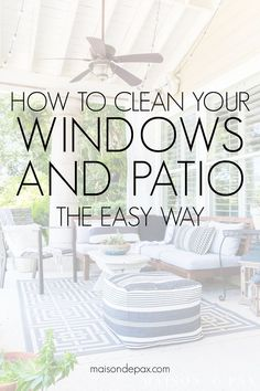 Do It Yourself Houseboat Strategies - Building Your Own Houseboat Planning On Outdoor Entertaining This Summer? Discover How To Clean Your Windows And Patio Furniture The Easy Way With These Tips For Outdoor Cleaning And Decorating