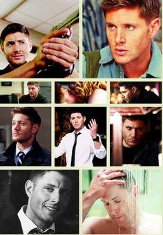 [GIFSET] Dean, season 9--really, can he get any hotter? Probably.