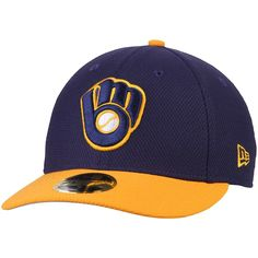 low priced f180a 60be8 coupon for era era royal milwaukee brewers new mlb diamond a gold light  59fifty cap ef54b 4130a
