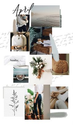 April Background and Monthly Goals Sweet Horizon Web Design, Website Design, Design Blog, Layout Design, Studio Design, Inspiration Boards, Graphic Design Inspiration, Moodboard Inspiration, Style Inspiration