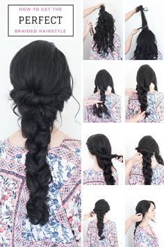 Tutorial on How to Get the Perfect Braided Wedding Hairstyle Wedding Hairstyles Tutorial, Braided Hairstyles For Wedding, Hairstyle Tutorials, Bridal Hairstyles, Hairdos, Everyday Hairstyles, Latest Hairstyles, Cool Hairstyles, Bridal Braids