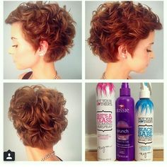 Curly pixie cut (I want this so bad!)