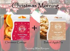 """Scentsy """"Christmas Morning"""" Scent Recipe ScentsbyKris.scentsy.us"""