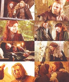Ned and Catelyn. This breaks my little heart