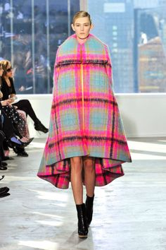 The New York Fashion Week Fall 2014 Trend Report is in! The first runway trend- Mad for Plaid