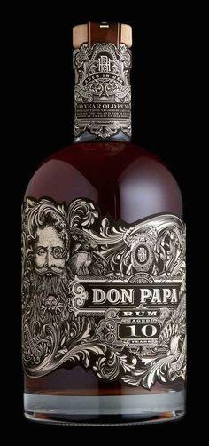 Don Papa 10-Year-Aged Rum (Philippines)   Kevin Shaw (Stranger & Stranger), USA