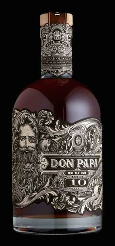 Don Papa 10-Year-Aged Rum (Philippines) | Kevin Shaw (Stranger & Stranger), USA