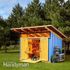 Materials List and Shed Construction Drawings for the Perfectly Practical Shed in the July/August 2015 issue.