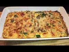 Recette flan de courgettes - YouTube Ricotta, Entrees, Zucchini, Omelettes, Quiches, Food And Drink, Nutrition, Vegan, Breakfast
