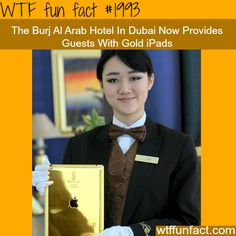 The Burj Al Arab Gold iPads -fun facts