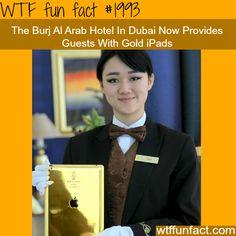 The Burj Al Arab Gold iPads... Definitely on my list