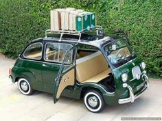 in Cars, Motorcycles & Vehicles, Classic Cars, Fiat & Lancia Fiat 600, Microcar, Auto Retro, Weird Cars, Bmw Classic Cars, Unique Cars, Cute Cars, Small Cars, Car Humor