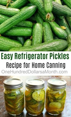 I stopped by Duris Cucumber Farm in Puyallup the other day to pick up some pickling cucumbers. I found a refrigerator pickle recipe I really want to try. This recipe is perfect for those of us who don't have a lot of extra time this summer. Ingredients 6 cups sliced pickling cucumbers 2 cups …