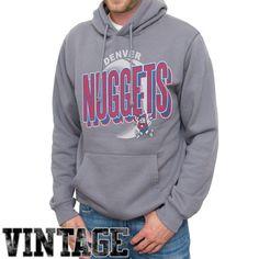 Denver Nuggets Team Basketball Pullover Hoodie - Ash - $24.99