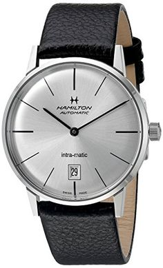 Hamilton Intra-Matic Silver Dial Leather Mens Watch H38455751 https://www.carrywatches.com/product/hamilton-intra-matic-silver-dial-leather-mens-watch-h38455751/ Hamilton Intra-Matic Silver Dial Leather Mens Watch H38455751  #hamiltonautomaticwatch #hamiltonintramatic #hamiltonwatchprice