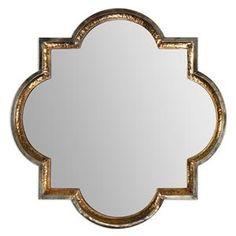 Uttermost Mirrors Lourosa Gold Mirror - 12862