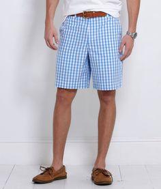 Vineyard Vines Bush Bay Gingham Breakers Shorts