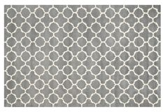 Dylan Rug, Dark Gray/Ivory | One Kings Lane